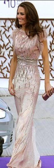 Kate Middleton in Jenny Packham, so pretty