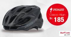 ¡La mejor protección al mejor precio! Hoy llévate el casco Specialized Align a sólo S/. 185 #Iamspecialized #align #specialized