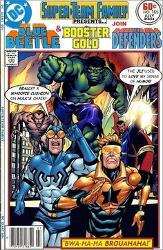 Super-Team Family: The Lost Issues!: Blue Beetle & Booster Gold Join The Defenders