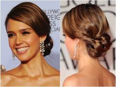 #3 The Classic - Classic styles like the french twist, the bun, or the chignon will never go out of style. These are meant to be simple and quick, usually you don't even have to curl the hair. These styles are for the girl who likes a simple timeless style. And you can always add a twist of flair or your own signature creativity.