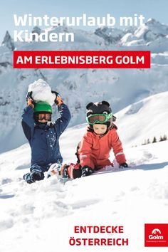 Ein Winterurlaub in Österreich erfreut nicht nur die Ski- und Snowboardfahrer. Besonders für die kleinen und großen Kinder bietet der Erlebnisberg Golm im Montafon unzählige Aktivitäten. Neben den Klassikern wie Schneeballschlachten, Schlitten fahren oder Schneemänner bauen, könnt ihr mit euren Kindern noch viele weitere Aktivitäten erleben. Geht nachts rodeln, besucht die Schneesportschule oder nutzt die kostenfreie Kinderbetreuung für ein paar entspannte Stunden zu zweit. #golmat Strand, Movies, Movie Posters, Winter Vacations, Child Care, Films, Film Poster, Cinema, Movie