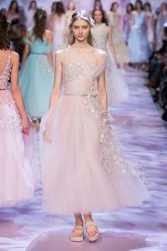 Défilé Georges Chakra Printemps-été 2017 Haute couture | Le Figaro Madame