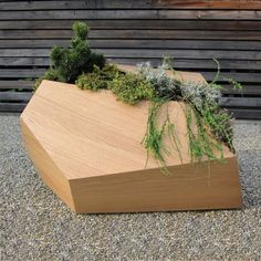 Wood Planters That Remind Real Life Growing Situations | DigsDigs
