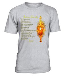 T shirt  Jesus T-Shirt Catholic Prayer Anima Christi Eucharist  fashion trend 2018 #tshirt, #tshirtfashion, #fashion