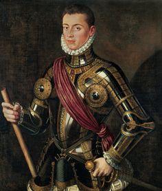 ALONSO SANCHEZ COELLO RETRATO DE DON JUAN DE AUSTRIA HIJO DE CARLOS V Y BARBARA BLOOMBERG 1585
