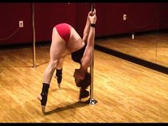 Power Pole™ Sports: CONDITIONING: Iguana Grip Reverse Straddle Lift - YouTube