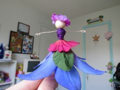 I fell in love with this idea after purchasing the Flower Fairy kit put out by Klutz that uses the same technique that I will demonstrate below. I've had this kit for a while now and have mad…