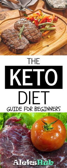each diet has its benefits from low carb to a high fat keto way of eating. Today we show what they are about with a guide to the well-established ketogenic diet. Keto Diet Guide, Keto Diet Plan, Diet Meal Plans, Keto Meal, Diet Tips, Meal Prep, Healthy Low Carb Dinners, Easy Meals, Healthy Eating