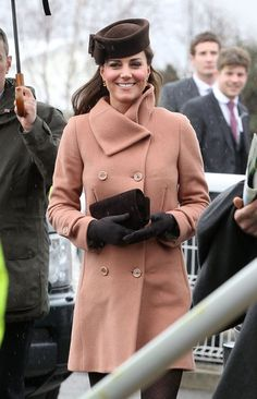 Kate Middleton and Prince William Join Up For a Day at the Races: Kate Middleton attended The Cheltenham Festival in England.
