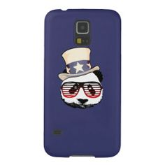 Patriotic panda galaxy s5 case