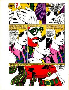 Michael Lutin (Writer) & Michel Quarez (artist) - MOD LOVE (1967) -