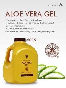The amazing Aloe Vera drinking gel ❤️ Changed my life within a week!!
