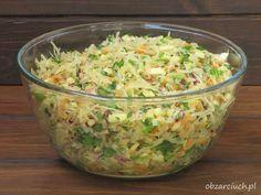 Appetizer Salads, Appetizers, Polish Recipes, Side Salad, Coleslaw, Kraut, Potato Salad, Food To Make, Veggies
