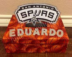 San Antonio Spurs basketball valentine box