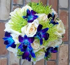 royal blue and green wedding - Google Search