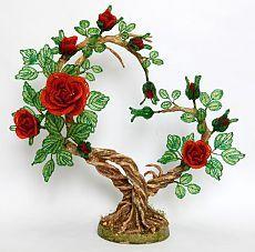 Дерево  из бисера. Дерево из бисера ручная работа | 3vision - Fashion blog