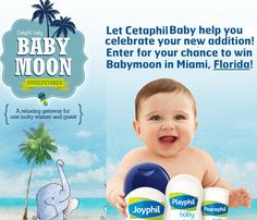 Cataphil Baby Baby Moon Sweepstakes