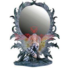 Silver Fairy Mirror - 05-91380 by Dark Knight Armoury