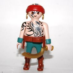 Playmobil pirate tatoué maori - Play-Original