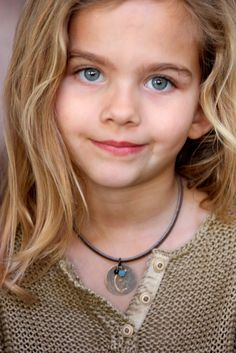 Rockstar Kids ~ love this initial necklace !!