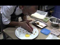Crippa prepares a dessert at Piazza Duomo, Alba - YouTube
