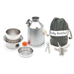 Kelly Kettle® essential Camping equipment for the Outdoors. For Scouts, Fishing, Picnics, Disaster Kits, etc. Order yours now! Camping Equipment, Camping Gear, Camping Hacks, Camping Recipes, Hiking Gear, Solo Camping, Camping Cabins, Rv Hacks, Camping Guide