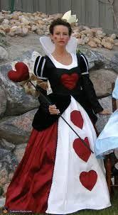 queen of hearts halloween costume - Google Search
