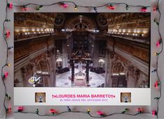 LA MISA QUE SE VA CELEBRAR 24 DE DICIEMBRE DEL VATICANO 2012.    †♠LOURDES MARIA†♠