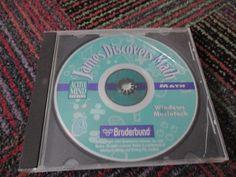 JAMES DISCOVERS MATH BY BRODERBUND PC CD-ROM BASIC MATH SKILL-BUILDING, WIN/MAC