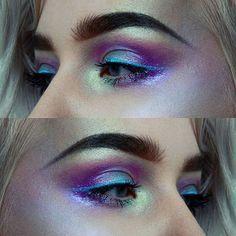 Eye look using the ABH Moonchild Glow Kit by @creationsbyelina • 659 likes