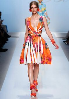 Blumarine Spring Summer 2012 Ready-To-Wear Collection | Fashion Shows