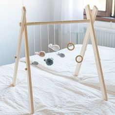 Make a simple and stylish gym for your baby with this easy step by step tutorial.