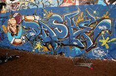 Dash - Graff à La Kommune (Paris XXe)