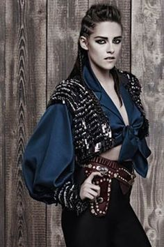 Kristen Stewart for Chanel Pre-Fall 2014 campaign by Karl Lagerfeld