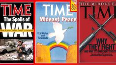Watch: 47 Years of Middle East Coverage on TIME's Cover
