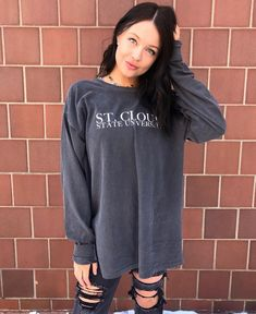 St. Cloud State University Comfort Colors Long Sleeve Tee