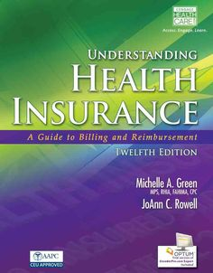 UNDERSTANDING HEALTH INSURANCE, 12th Edition, is the essential learning tool you need when preparing for a career in medical insurance billing. This comprehensive and easy-to-understand text is fully-