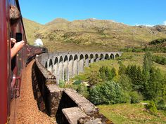 Sad that you never received that letter from Hogwarts? Well you can still have the Hogwarts Express experience by riding the Harry Potter train in Scotland. Moving To Scotland, Scotland Vacation, Scotland Trip, Scotland Travel, Harry Potter Locations, Harry Potter London, Tours Of England, England And Scotland, Scottish Highlands