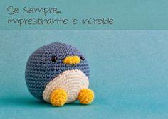 Penguin Sebastian  made June 2014.  Cute