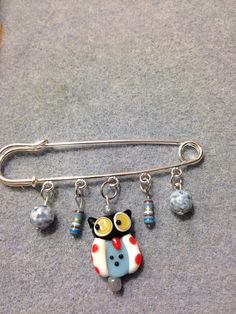 These wise resistor owls are here to remind us to resist the Trump administrations insane climate denial and the joke that the EPA has become. These owls are scared for their future, the future of their fellow creatures, and the planet that is home to so many. Real resistors (brand new, lead-free) dangle from the safety pin style brooch that reminds us to show solidarity with Mother Earth. Proceeds benefit EarthJustice.  www.earthjustice.org  Today's environmental challenges are greater than…