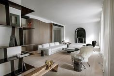 All the design-lovers' eyes are focused in Paris. To inspire you and to give some home décor ideas with a modern design, we present you the interior design projects by 10 Best Interior Designers from Paris. French Interior, Best Interior, Modern Interior, Interior Architecture, Apartment Interior, Apartment Design, Living Room Interior, Parisian Apartment, Studio Apartment