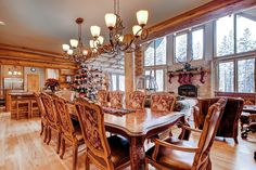 Ski Classic Lodge is a beautiful villa for rent in Breckenridge, CO. Beautiful Villas, Home Cinemas, Skiing, Colorado, Vibrant, Kitchens, Dining Room, Layout, Group
