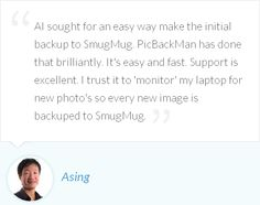 Asing is happy with PicBackMan's SmugMug uploader and trust it to 'monitor' for new photos to backup to SmugMug.