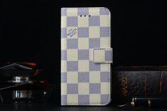 Street Style for Real LV iPhone 6s/6s Plus Leather Wallet Case - Luxury iPhone6S Case