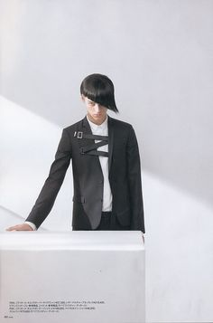 """Editorial """"Angles"""" Dior Homme Fall 2009"""