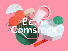 Beth Comstock Brand Identity on Behance