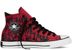 Converse Chuck Taylor All Star High Top Converse All Star, Converse Sneakers, Converse Chuck Taylor All Star, Converse Shoes Outfit, Jouer Au Basket, Black Leather Converse, Chica Cool, Pullover Shirt, Mens Fashion Shoes