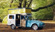 These Classic Camper Vans were Stylish and Practical: Citroen Nomad Cool Campers, Rv Campers, Happy Campers, Camper Caravan, Truck Camper, Camper Van, Mini Camper, Classic Campers, Auto Retro