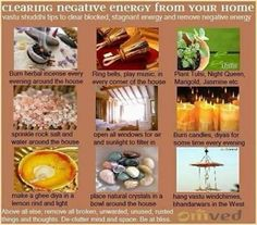 Clearing Negative Energy From Your Home