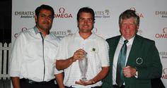 UAE Golf: Harradine Follows Gallacher in Anniversary Celebrations winning the Omega Emirates Amateur Open | UAE Golf News #dubai #golf #mydubai Emirates Golf Club, Dubai Golf, New Golf, Uae, Golf Clubs, Omega, Celebrations, Anniversary, News